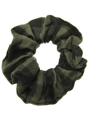 FLANNEL SCRUNCHIE HAIR ACCESSORY - Sona Starz