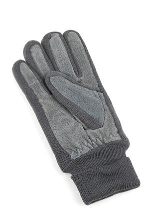 FLEECE LAYERED SUEDE KNITTED WOMENS GLOVES GENERAL MERCHANDISE - Sona Starz