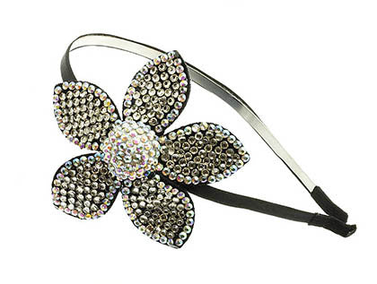 FLOWER HAIR BAND HAIR ACCESSORY - Sona Starz