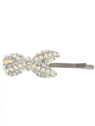 METAL RIBBON HAIR PIN HAIR ACCESSORY - Sona Starz