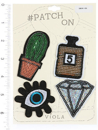 IRON ON FABRIC PATCH GENERAL MERCHANDISE - Sona Starz