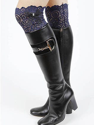 LACE BOOT TOPPER LEG WARMER - Sona Starz