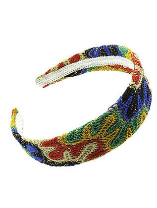 WOVEN DESIGN HEAD BAND HAIR ACCESSORY - Sona Starz