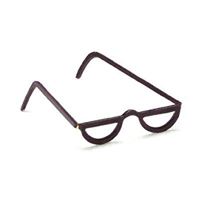 Black 1/2  Reading Glasses