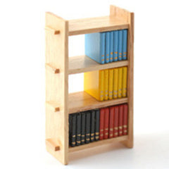 Small Bookcase And Books