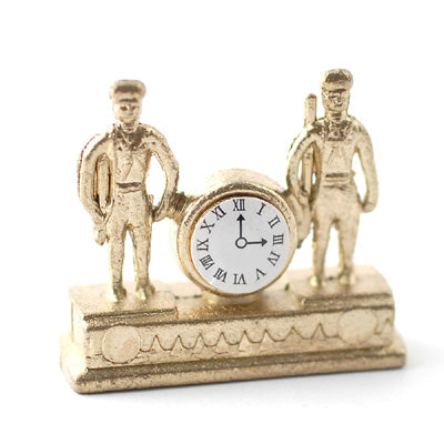Ornate Clock With Soldiers