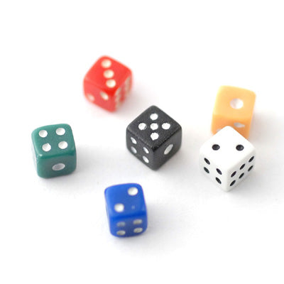 Pack of 6 Dice