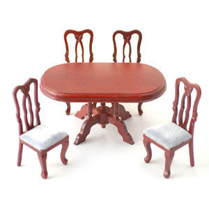 Fancy Dining Table and 4 Chairs