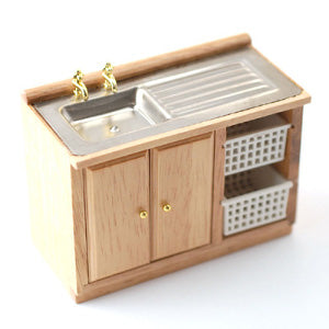 Kitchen Sink With Baskets