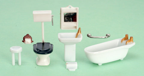 1.48 Scale Bathroom Set 8pcs