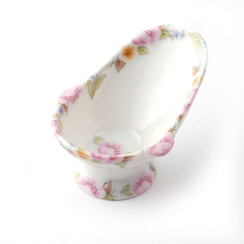 Pink Ceramic Hip Bath