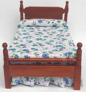 Single Bed Brown