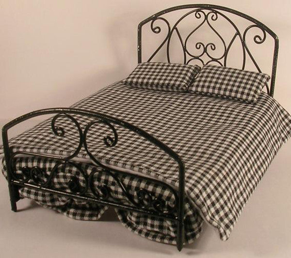 Black Wire Bed