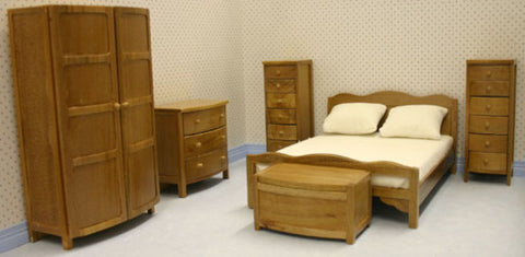 Bedroom Set Teak 6pc