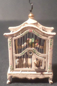 Ornate Cream Birdcage