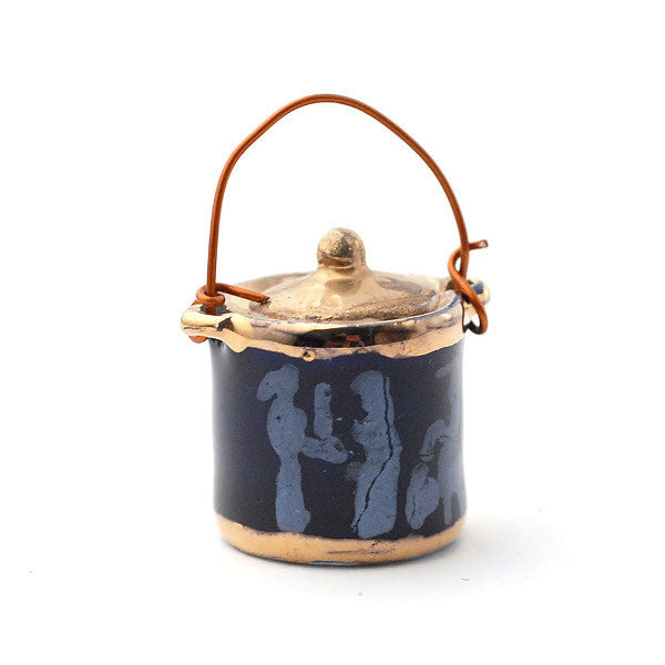 Blue Biscuit Barrel