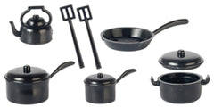 Black Kitchenware 10pcs