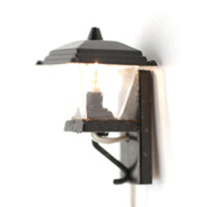 Black Coach Wall Light
