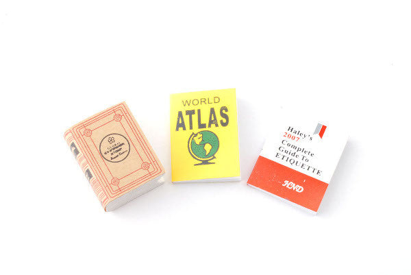 Atlas And Books