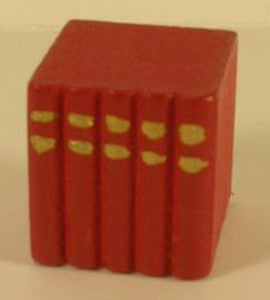 Small Red Block Of Books