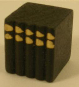 Small Black Block Of Books