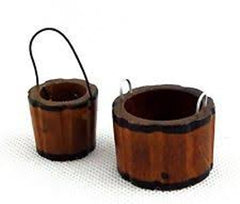 Pair Of  Wooden Buckets