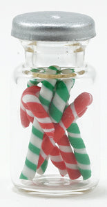 Candy Canes In A Jar