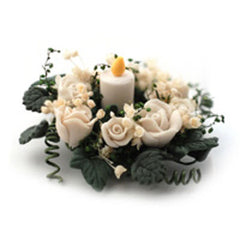White Table Decoration