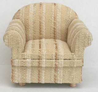 Armchair Cream Stripe