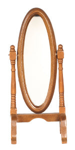 Cheval Mirror Walnut