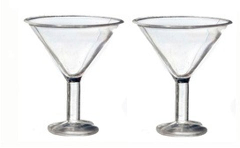 Cocktail Glasses Pair