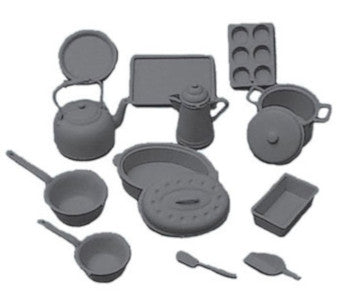 Cookware Black 14pc