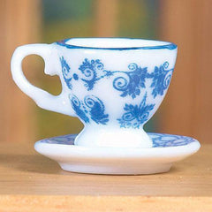 Delft Cup And Saucer
