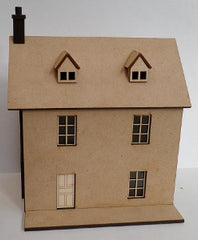 1:48 Laser Cut Dollhouse Kit