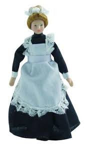 Porcelain Maid In Black