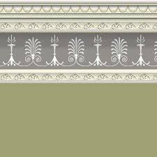 Sage Wallpaper With Border