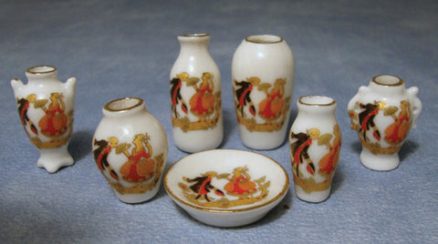 Figurine Vase set