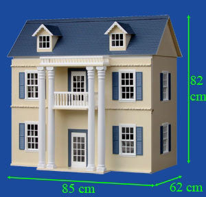 The Georgian Dollhouse Kit