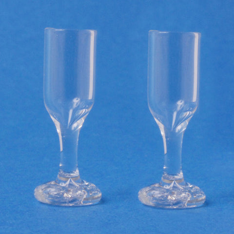 2 Glass Wine Glasses