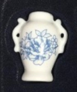 Blue Flower Vase With Handles