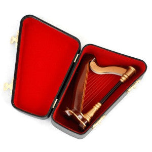 Orchestral Harp With Case