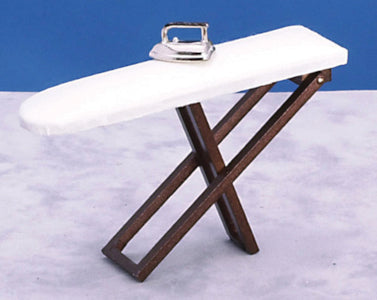 Folding Ironing Board With Iron