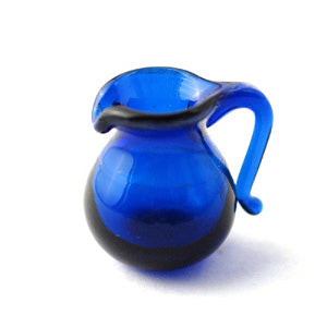 Blue Glass Jug