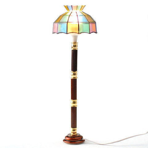 Floor Lamp With Tiffany Shade
