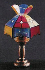 Tiffany Lamp With A Butterfly Top