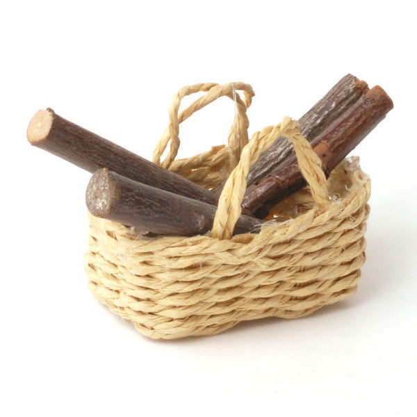Basket Of Logs