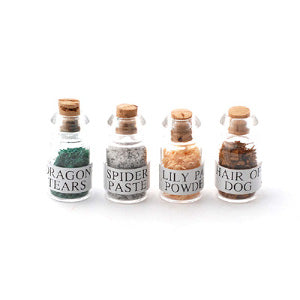 Witch's Potions 4 Pcs