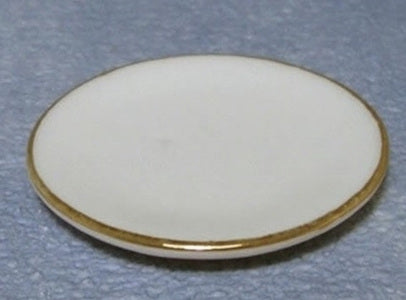 Side Plates Gilded edge 4 pcs