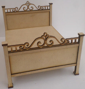 Double Bed Kit With Fancy Detail