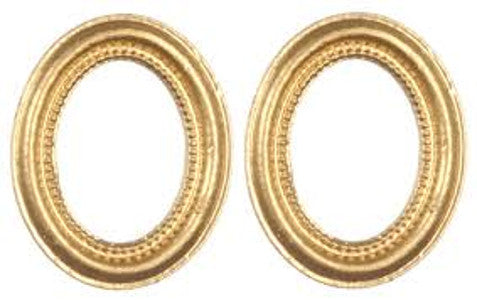 Small Gold Oval Frames